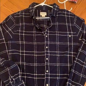 Heavy weight Obey Men's flannel shirt